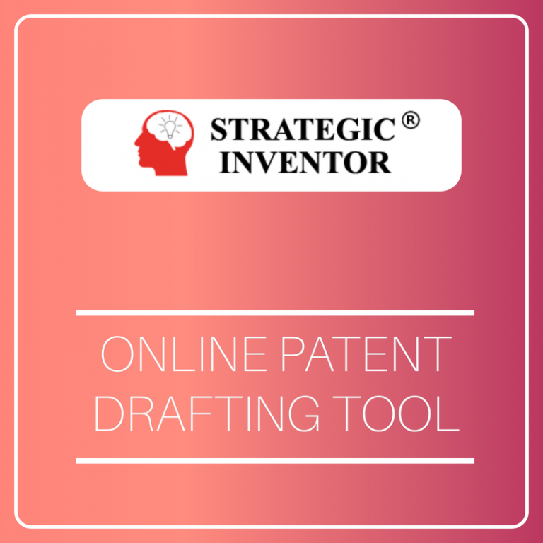 Strategic Inventor Online Patent Drafting Tool